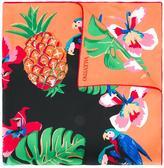 Valentino Garavani Valentino Cuban print scarf - women - Silk - One Size