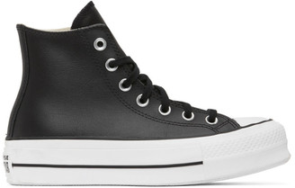 Converse Black Chuck Lift High Sneakers