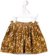 Anne Kurris - 'Trixy' velvet skirt - kids - Silk/Cotton/Spandex/Elastane/Rayon - 4 yrs