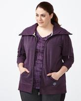 Penningtons Essentials - Plus-Size Zip Up Jacket