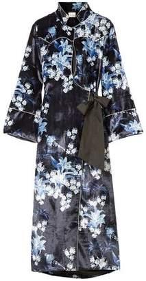Johanna Ortiz New Sunrise Floral-print Velvet Kimono