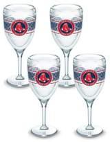 Tervis MLB Boston Red Sox Select 9 oz. Stemmed Wine Glasses (Set of 4)