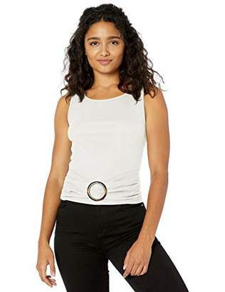 Amy Byer A. Byer Junior's Buckle Front Tank Top