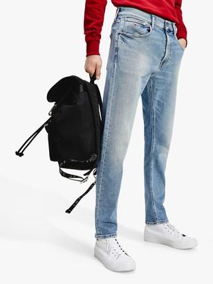 Tommy Hilfiger Tommy Jeans Rey Recycled Cotton Slim Jeans, Barton Light Blue
