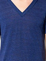 American Apparel Men's Unisex Tri-Blend Short Sleeve V-Neck