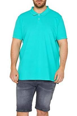 Esprit Men's 019ee2k028 Polo Shirt, (Aqua Green 380), XXX-Large
