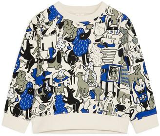 Arket Artist Edition Printed Sweatshirt