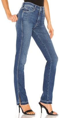 Mother The High Waisted Rascal Slice Undone Hem. - size 23 (also