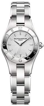 Baume & Mercier Linea 10009 Interchangeable Stainless Steel Bracelet Watch