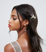 Asos Occasion Pack Of 3 Jewel Hair Clips