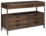 Keyon Rustic Publican 9 Drawer Storage Sideboard Williston Forge