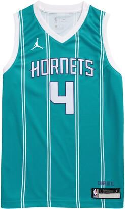Jordan Dri-FIT Kids' NBA Charlotte Hornets Devonte' Graham Icon Edition Jumpman Jersey