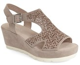 Gabor Women's Perforated Wedge Sandal