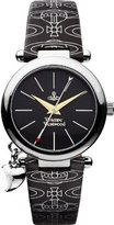 Vivienne Westwood Women's VV006BKBK Orb Black on Black Watch