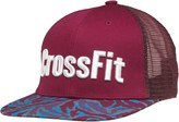 Reebok CrossFit Snap Back Trucker Cap Burgundy