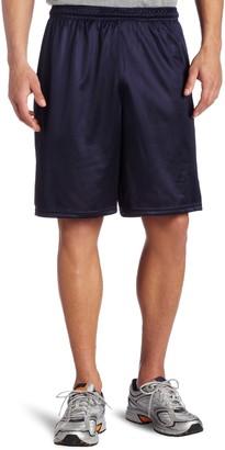 MJ Soffe Soffe Men's Long Polyester Mini-Mesh Short Navy Small