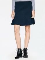 Calvin Klein Platinum Jersey Flared Skirt