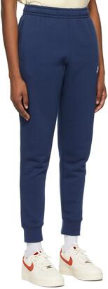 Nike Navy Fleece Sportswear Club Lounge Pants