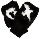 Jocelyn Wool Fur-Trimmed Gloves w/ Tags