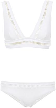Zimmermann Lattice-trimmed Bikini