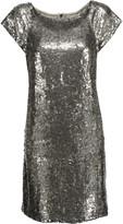 Alice + Olivia Sherry sequined tulle mini dress