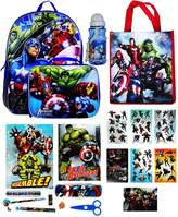 Disney Marvel Boy's Backpack with Lunchbox Set and Value Packs