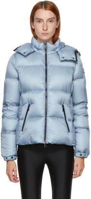 Moncler Blue Down Fourmi Coat