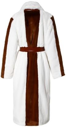 Aggi Heera Marshmallow Faux Fur Coat