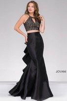 Jovani Two-Piece Long Mermaid Prom Dress 41194