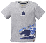 Carhartt Heather Gray 'Outwork Them All' Tee - Toddler