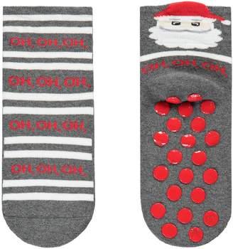 Calzedonia Kids' Non-Slip Christmas Socks