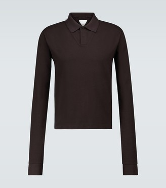 Bottega Veneta Long-sleeved polo shirt
