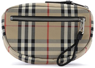 Burberry Vintage Check Small Cannon Bum Bag