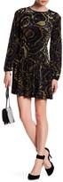 Romeo & Juliet Couture Long Sleeve Burnout Knit Dress