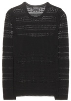 Tom Ford Crochet-knitted Top