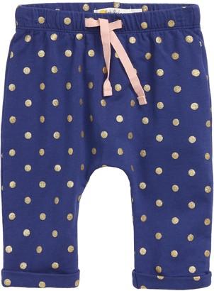 Boden Mini Sparkle Spot Jersey Jogger Pants