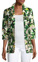 Berek Palm Springs Two-Button Blazer Jacket, Multi, Petite