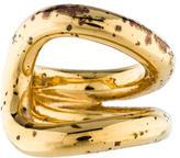 Saint Laurent Double Curve Ring