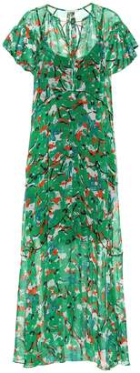 Schumacher Dorothee Caribbean Gardens maxi dress