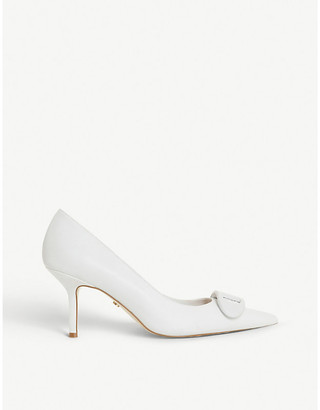 Dune Brioni 2 pointed-toe leather courts