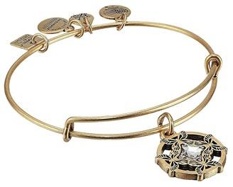 Alex and Ani Charity By Design, Wings of Change II Charm Bangle (Rafaelian Gold) Bracelet