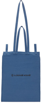 MM6 MAISON MARGIELA Blue Six Handle Tote