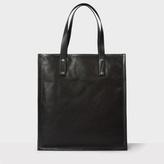 Paul Smith Women's Black Calf Leather Tote Bag