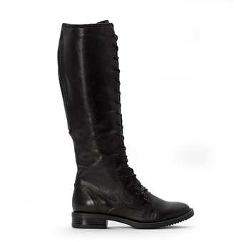Mjus Zarko-Zorba Leather Knee-High Boots with Laces