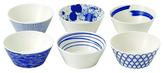 Royal Doulton Pacific Porcelain Tapas Bowls (Set of 6)