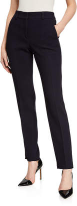 Emporio Armani Zen Waffle-Knit Wool Trousers