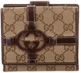 Gucci Interlocking GG Compact Wallet