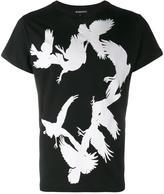 Ann Demeulemeester flying bird print t-shirt
