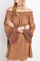 Easel Esken Dress (Camel)