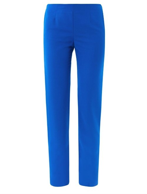 Maison Margiela Skinny wool-blend tailored trousers